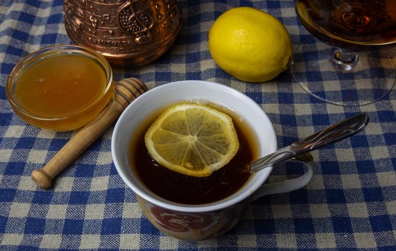 фото чая с коньяком и медом