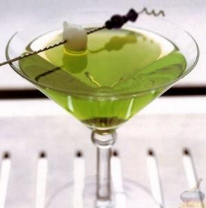 коктейль зеленый дракон фото