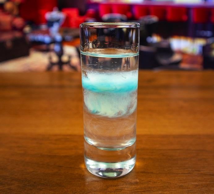 фото слоистого коктейля Медуза