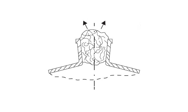 ватная пробка вместо гидрозатвора