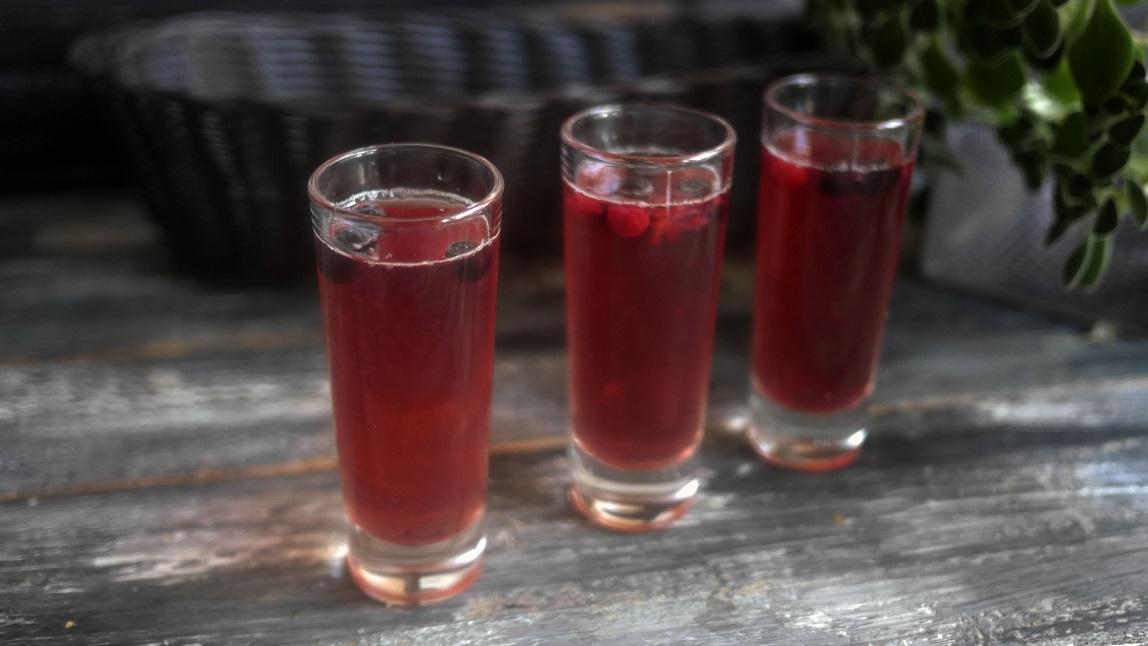 фото шотов алкогольного желе