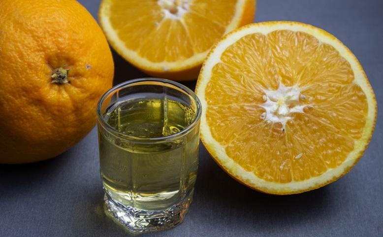 фото домашней настойки из апельсинов