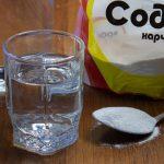 как чистить самогон пищевой содой