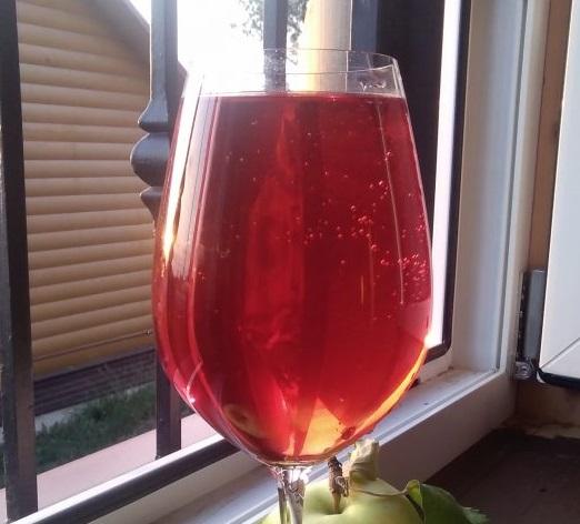 фото самодельного вина из красной смородины