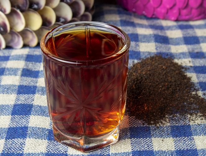 фото быстрой настойки на чае