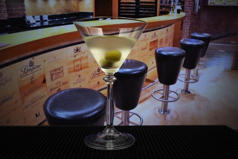 фото коктейля грязный мартини