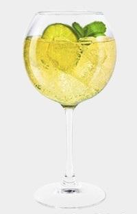 коктейль мартини с шампанским