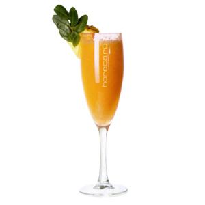 коктейль шампанское с фруктами