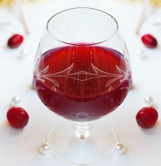 рецепт клюквы и спирта