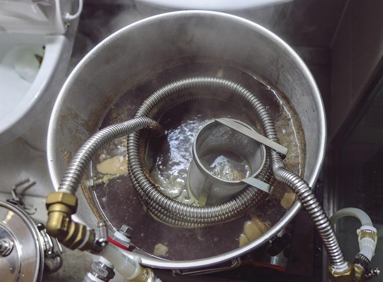 устройство для охлаждения зернового затора