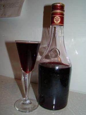 рецепт водки на черной смородине