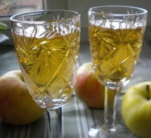 настойка на яблоках на спирту в домашних условиях рецепт
