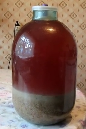 изюмная водка рецепт