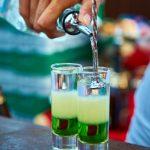 коктейль с текилой Зеленый мексиканец