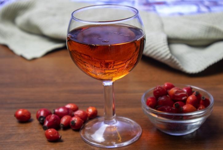 фото вина из шиповника