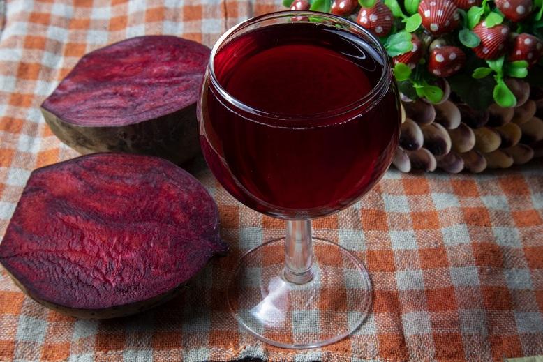 фото домашнего вина из свеклы