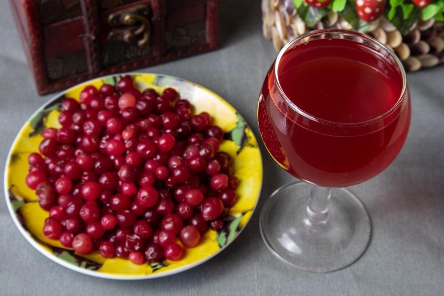 домашнее вино из клюквы фото