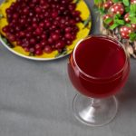 клюквенное вино фото
