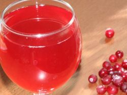 рецепт клюквенного вина