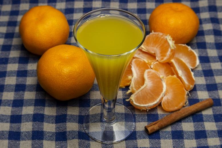 фото ликера из мандаринов