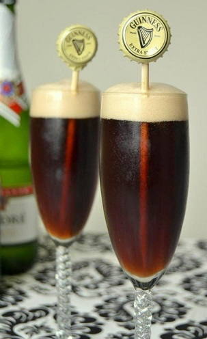 шампанское темное пиво алкогольный коктейль рецепт