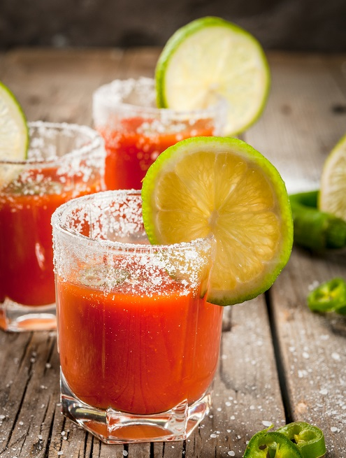 фото мексиканского напитка Сангрита