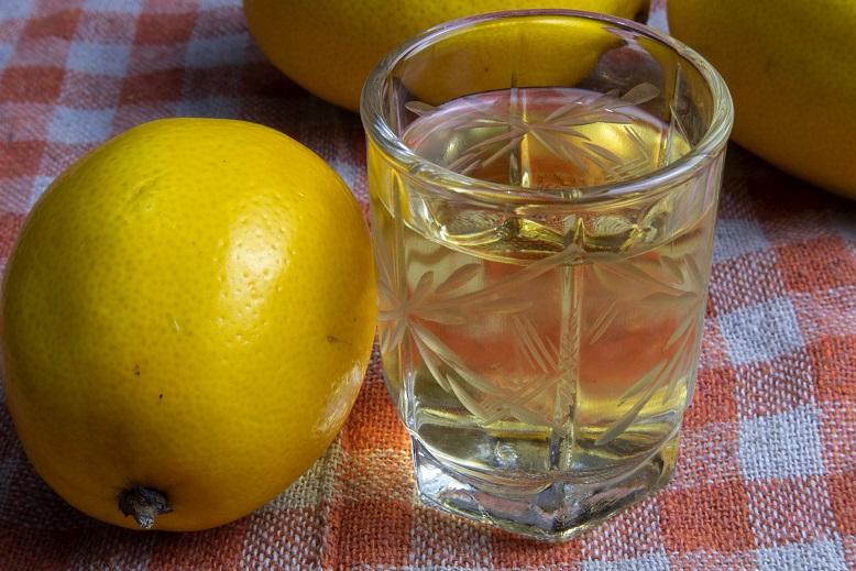 фото настойки из лимона