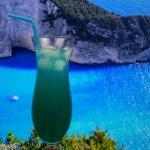 фото алкогольного коктейля Голубые Гавайи