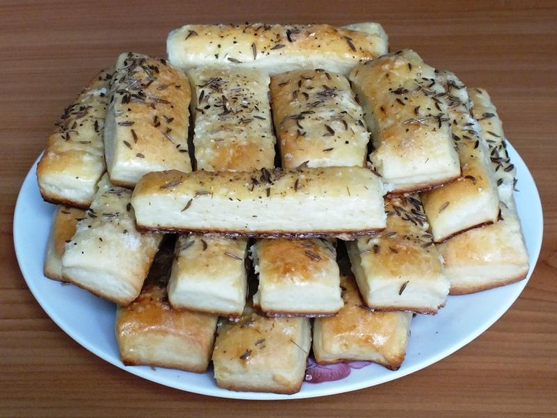 Рецепт соленых палочек