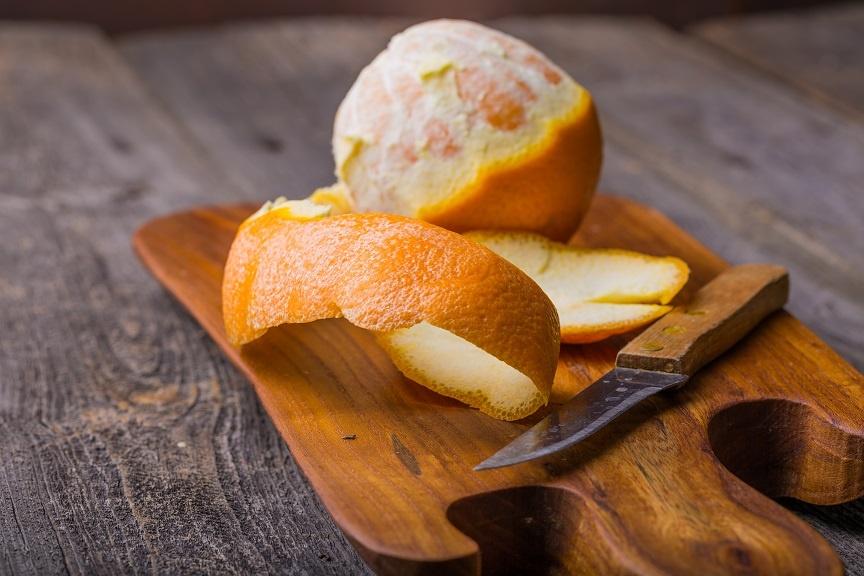 апельсиновые корки для очистки самогона