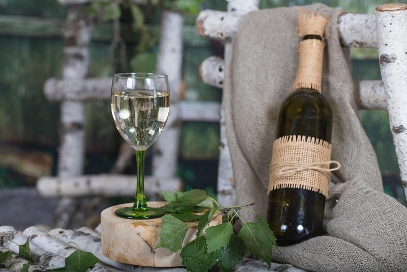 фото домашнего вина из березового сока