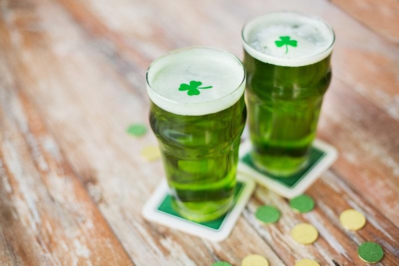 фото ирландского зеленого пива
