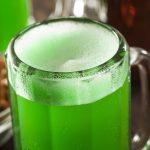 фото зеленого пива из бамбука