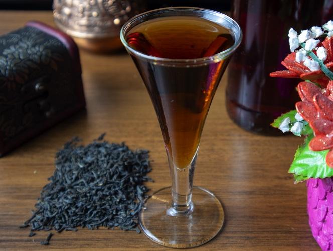 фото домашнего ликера из черного чая