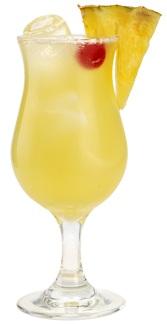 малибу с ананасовым соком