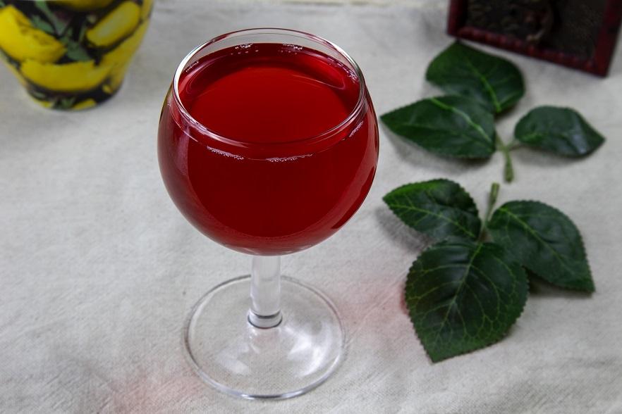 домашнее вино из брусники