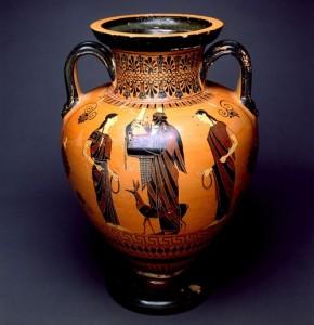 фото греческой амфоры для вина