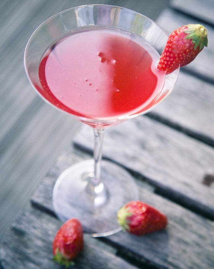 фото алкогольного коктейля Россини