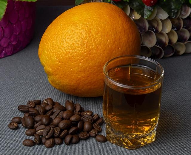 фото кофейно-апельсиновой настойки