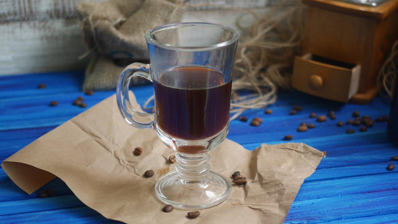 фото классической кофейной настойки на водке
