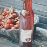фото ликера из ягод черешни