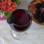 домашнее вино из ягод шелковицы