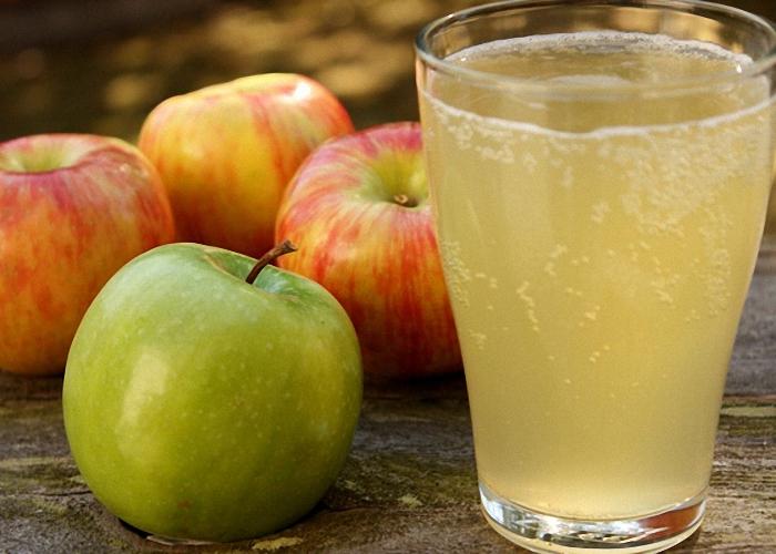 как приготовить квас из яблок 3