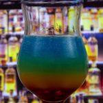 фото алкогольного коктейля радуга