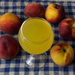 домашнее персиковое вино