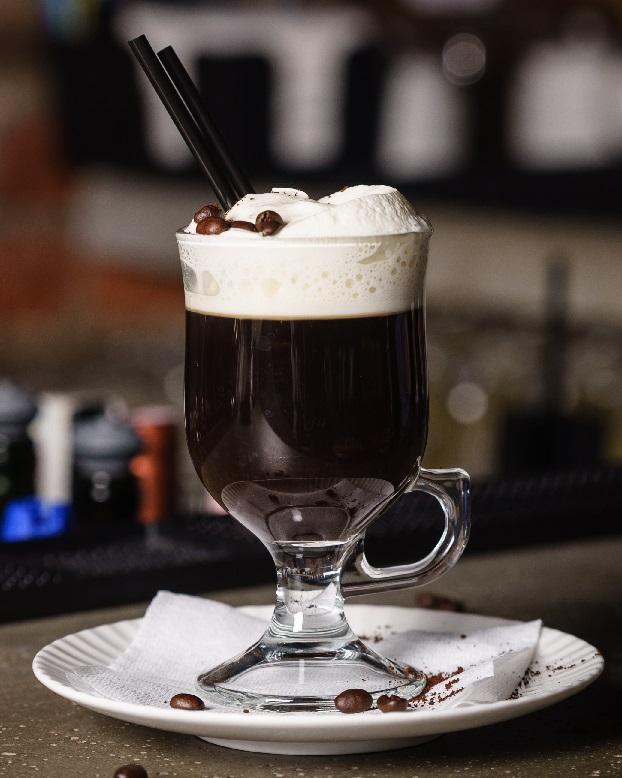 фото иралндского кофе с виски