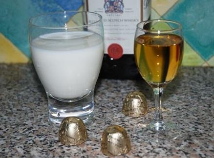 фото виски с молоком