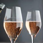 фото розового шампанского