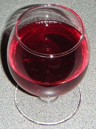 Черничное вино домашнее
