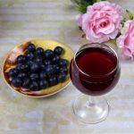 вино из ягод голубики фото